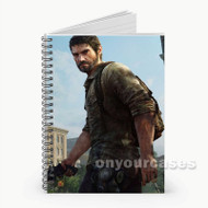 Joel The Last of Us Custom Personalized Spiral Notebook Cover