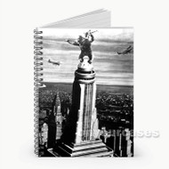 King Kong Custom Personalized Spiral Notebook Cover