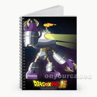 Magetta Dragon Ball Super Custom Personalized Spiral Notebook Cover