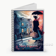 Mary Poppins Custom Personalized Spiral Notebook Cover