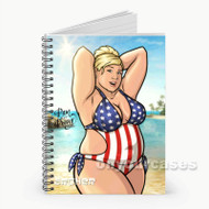 Pam Poovey Archer Custom Personalized Spiral Notebook Cover
