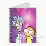 Rick and Morty Meme Custom Personalized Spiral Notebook Cover