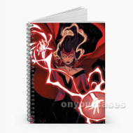 Scarlet Witch Marvel Custom Personalized Spiral Notebook Cover