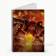 Spider Lavalantula Custom Personalized Spiral Notebook Cover