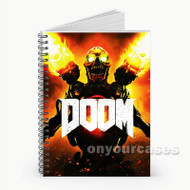 The Art of Doom Custom Personalized Spiral Notebook Cover
