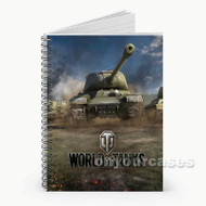 World of Tanks Custom Personalized Spiral Notebook Cover