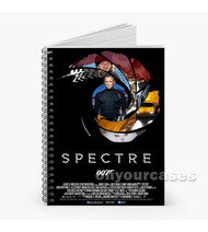 007 Spectre James Bond Custom Personalized Spiral Notebook Cover