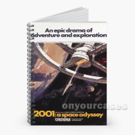 2001 A Space Odyssey Custom Personalized Spiral Notebook Cover