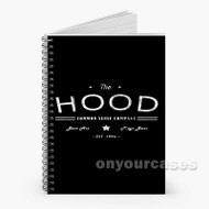 5 Seconds of Summer Calumn Hood Custom Personalized Spiral Notebook Cover