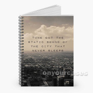 5 Seconds of Summer Disconnected Lyrics Custom Personalized Spiral Notebook Cover