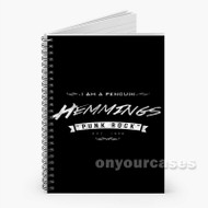 5 Seconds of Summer Luke Hemming Custom Personalized Spiral Notebook Cover