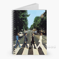 Abbey Road The Beatles Custom Personalized Spiral Notebook Cover
