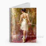 Andrew Atroshenko Purity Custom Personalized Spiral Notebook Cover