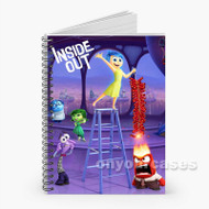 Disney Pixar inside Out Characters Custom Personalized Spiral Notebook Cover