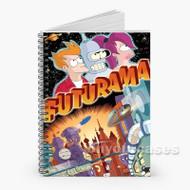 Futurama Custom Personalized Spiral Notebook Cover