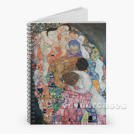 Gustav Klimt Death and Life Custom Personalized Spiral Notebook Cover