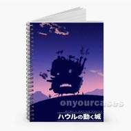 Howl s Moving Castle Custom Personalized Spiral Notebook Cover