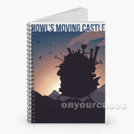 Howl s Moving Castle Silhouette Custom Personalized Spiral Notebook Cover