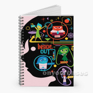 Inside Out Disney Pixar Custom Personalized Spiral Notebook Cover
