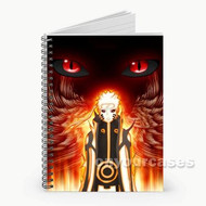 Naruto Shippuden Custom Personalized Spiral Notebook Cover