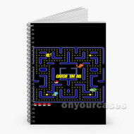 Pokemon Pacman Custom Personalized Spiral Notebook Cover