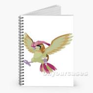 Pokemon Pidgeotto Custom Personalized Spiral Notebook Cover