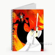 Samurai Jack Custom Personalized Spiral Notebook Cover