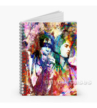 Steven Tyler Joe Perry Aerosmith Custom Personalized Spiral Notebook Cover
