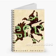 The Legend of Zelda Twilight Princess Custom Personalized Spiral Notebook Cover