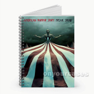 American Horror Story Freak Show Custom Personalized Spiral Notebook Cover