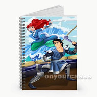 Ariel and Eric as Avatar The Last Airbender Custom Personalized Spiral Notebook Cover
