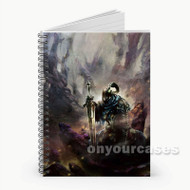 Artorias of The Abyss Dark Souls Custom Personalized Spiral Notebook Cover