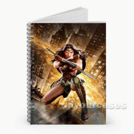 Batman v Superman Wonder Woman Custom Personalized Spiral Notebook Cover
