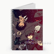 Black Butler Custom Personalized Spiral Notebook Cover