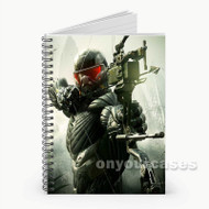Crysis 3 Custom Personalized Spiral Notebook Cover