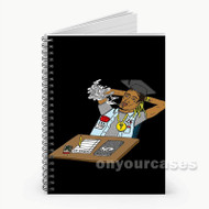 Fetty Wap Wake Up Custom Personalized Spiral Notebook Cover