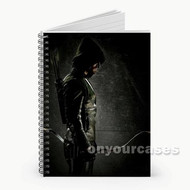 Green Arrow Custom Personalized Spiral Notebook Cover