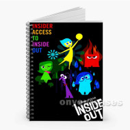Inside Out Custom Personalized Spiral Notebook Cover