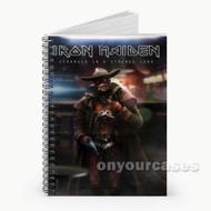 Iron Maiden Stranger in Strange Land Custom Personalized Spiral Notebook Cover
