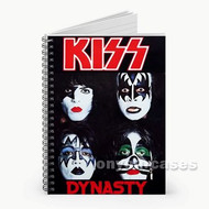 Kiss Band Custom Personalized Spiral Notebook Cover