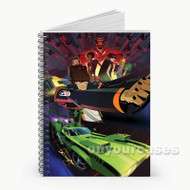 Motorcity Custom Personalized Spiral Notebook Cover
