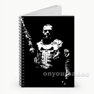 Punisher War Zone Custom Personalized Spiral Notebook Cover