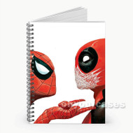 Spiderman Deadpool Custom Personalized Spiral Notebook Cover