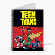 Teen Titans Custom Personalized Spiral Notebook Cover