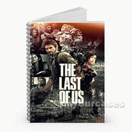 The Last of Us Custom Personalized Spiral Notebook Cover