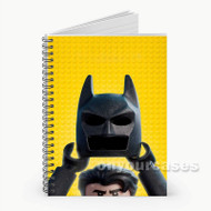 The Lego Batman Custom Personalized Spiral Notebook Cover