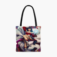 Ahri League of LegendsCustom Personalized Tote Bag Polyester with Small Medium Large Size