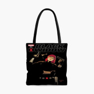 Black Widow Marvel 002Custom Personalized Tote Bag Polyester with Small Medium Large Size