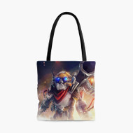 Clock Werk Dota 2Custom Personalized Tote Bag Polyester with Small Medium Large Size