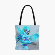 Crystal Maiden Dota 2Custom Personalized Tote Bag Polyester with Small Medium Large Size